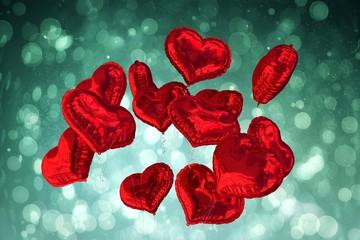 Fototapeta do salonu czerwone balony