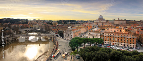 Plexiglas Rome Italie - Rome