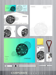 Professional corporate identity kit for your business.