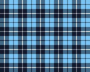 blue tartan fabric texture pattern seamless