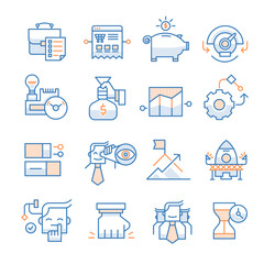 Business Startup Icons Collection