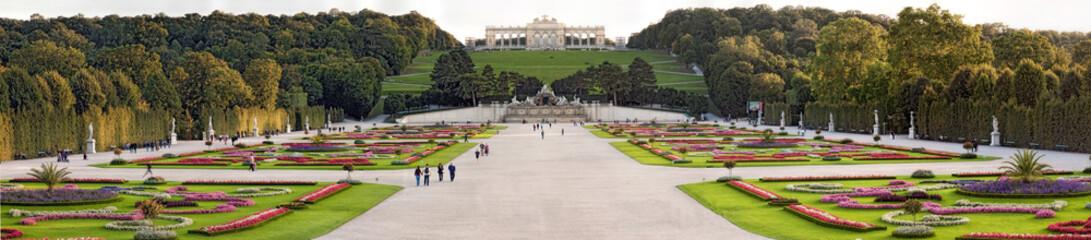 Schloss Schönbrunn Wien Gloriette Panorama