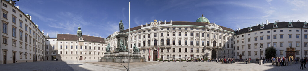 Hofburg Wien Panorama