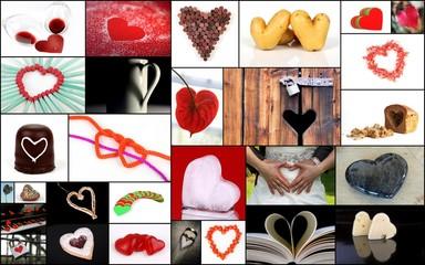 Herzen für den Valentinstag