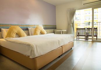 Bedroom, home interior image.