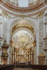 Karlskirche Wien Innen