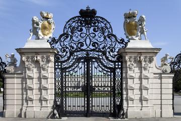 Eingangstor Schloss Belvedere Wien