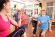 Aerobic mit Senioren