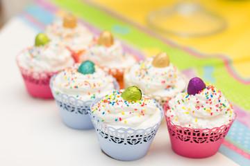 Delicious dessert muffins