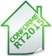 Sticker des bâtiments conforme RT 2015 (détouré)