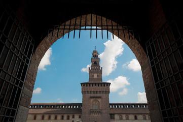 Milano, castello 2