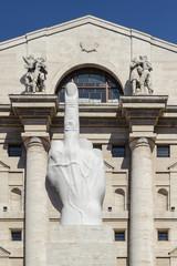 Milano, palazzo della Borsa 4