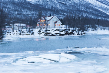 Norway in winter - trip near Tromso