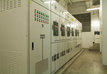 Electric amperage control room