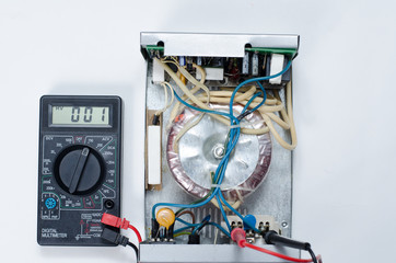 Troubleshooting Electronic Circuit