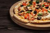 Ham pizza - 77611623