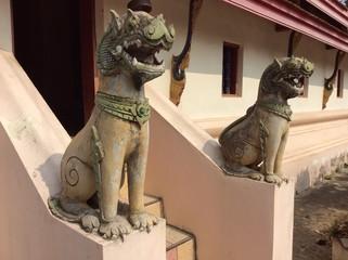 Sculpture in temple