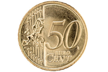 Fifty euro cent