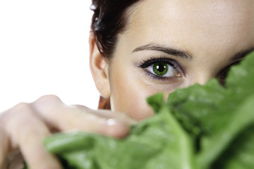 Eye Salad Holding