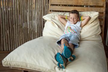 Vacances ! Repos et détente (Garçon 10 ans)
