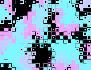 pixels modern pattern