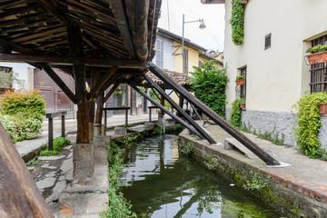 Milano, lavatoi ai Navigli
