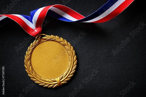 Leinwanddruck Bild Olympic gold medal