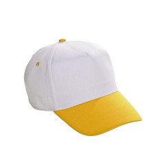 Baseball Cap Weiss Gelb