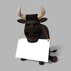 Cartoon Bull