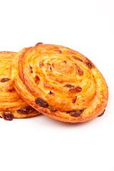 sweet bun with raisin
