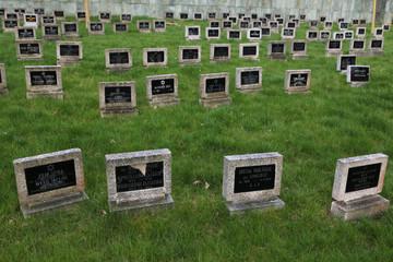 Jewish Cemetery in Terezin, Czech Republic.