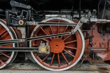 Treno a vapore, movimento