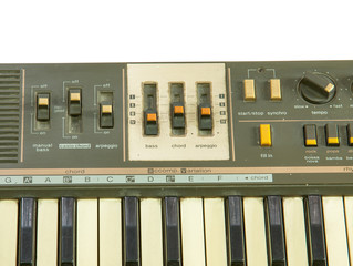 Old Digital keyboard