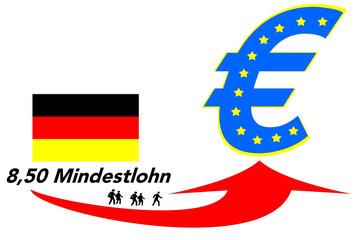 Mindestlohn Euro