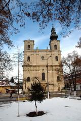 Armenian Catholic church in Dumbraveni, Romania