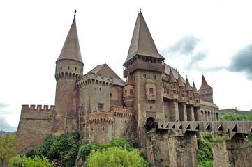 Corvinestilor castle, Hunedoara, Romania