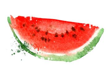 Watermelon vector logo design template. vitamins or food icon.