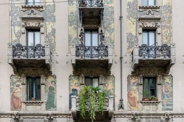 Milano, casa Galimberti
