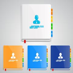 Notebook set color