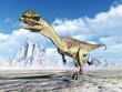 canvas print picture - Dinosaur Dilophosaurus