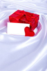 gift box with your text