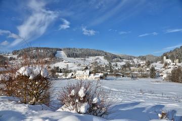 Winter Landschaft Schnee Warmensteinach