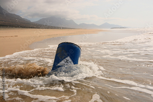 Water Pollution - Water Contamination - Marine Pollution - 77630620