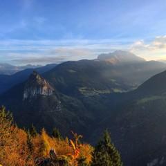 Vista panoramica montagna