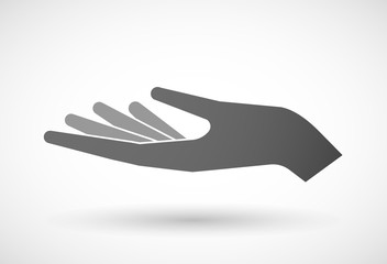 Hand giving