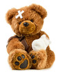Teddy with bandage - 77632426