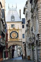 Hafenstadt Rouen an der Seine - Frankreich