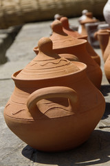 Clay Pots.