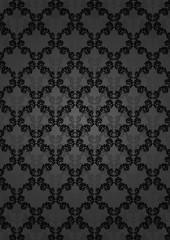 Barock schwarz Hintergrund Edel Luxus