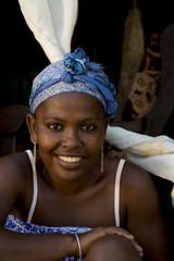 sourire femme malgache